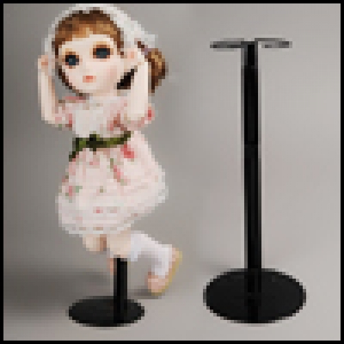 40 ~ 50cm Dollmore Doll Stand (Thick waist-Black)