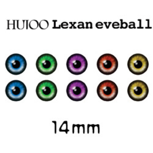 [14mm] Lexan eyeball