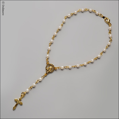 MSD & SD Size - Redemption Rosario Necklace (G/White)