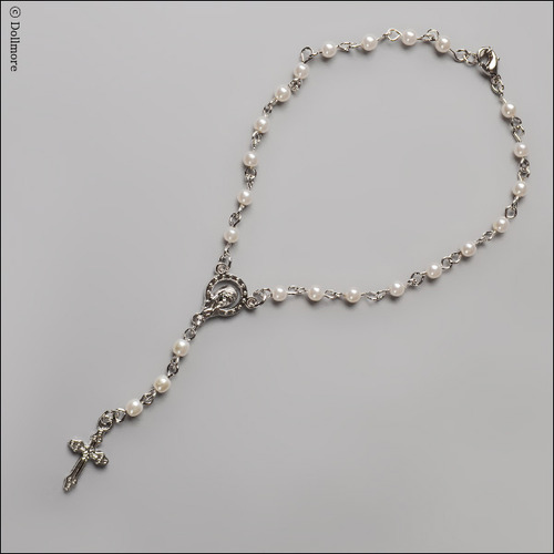 MSD & SD Size - Redemption Rosario Necklace (W/White)