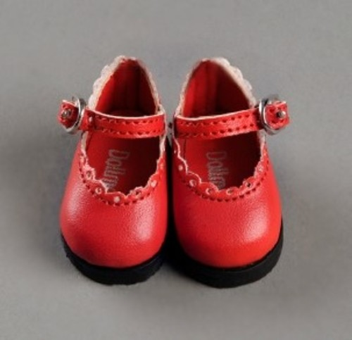 [USD] Lolo Cut Shoes (Red)