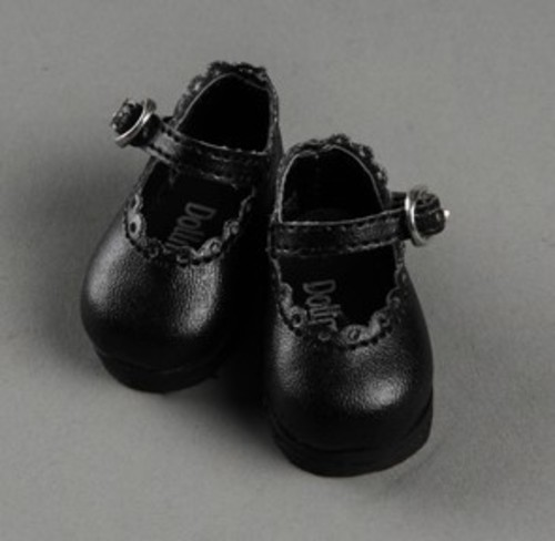 [50mm] USD.Dear Doll Size - Lolo Cut Shoes (Black) [K8]
