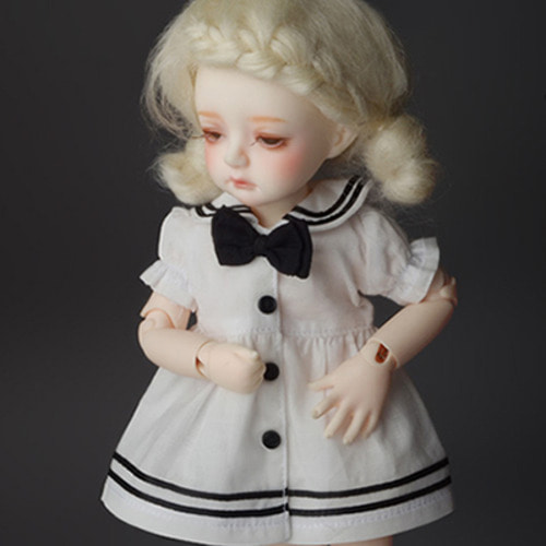 [USD] Travel by Sailor Dress (White)[K7]