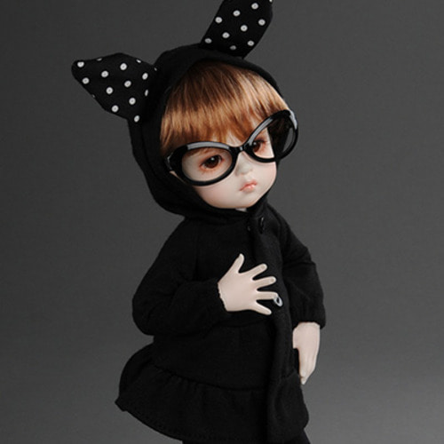 [USD] lapine Dress (Black)