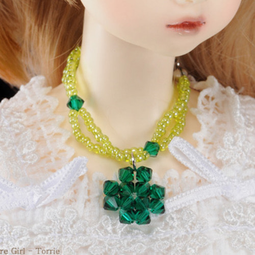 All Size - Crystal Green Necklace