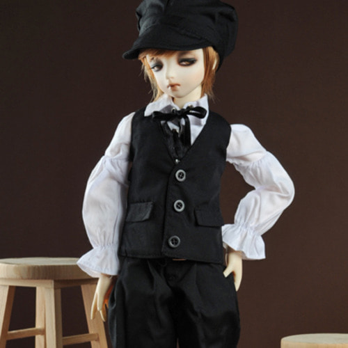 [MSD] Oliver Boy Set (Black)