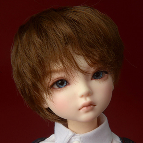 "[7-8""] Farach Short Cut Wig (Brown)"