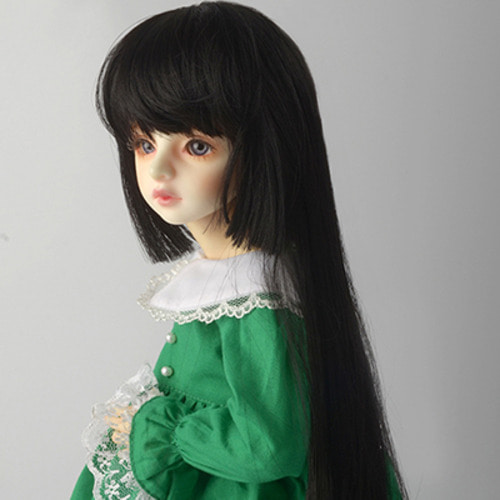 "[7-8""] Hime Long Wig (GH-Black)"