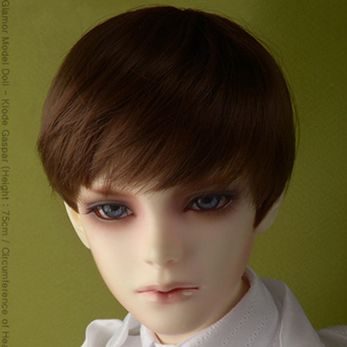 "[8-9""] Effic Short Wig (D.Brown)"