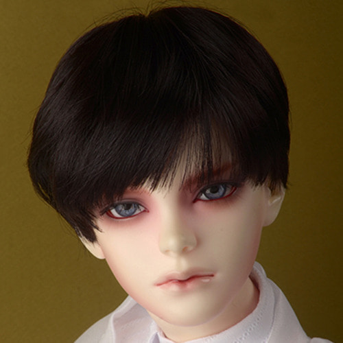 "[8-9""] Effic Short Wig (Black)"