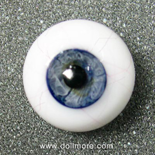 [16mm] Glass Blood eye (Blue)