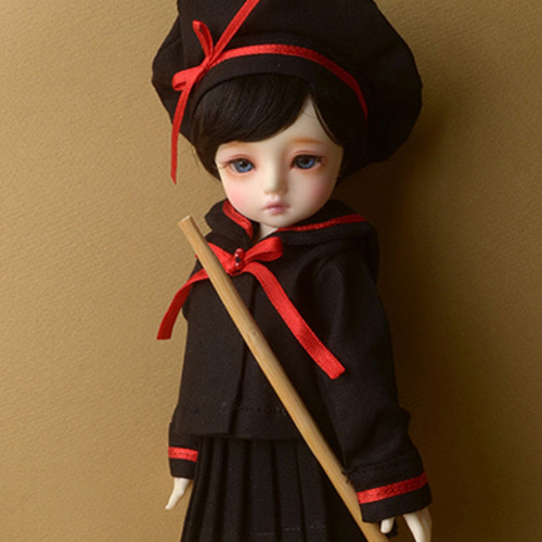 [USD] Acddang Sailor Dress (Black)