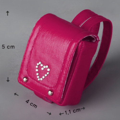 12inch Size - heart Ransel (D.Pink)