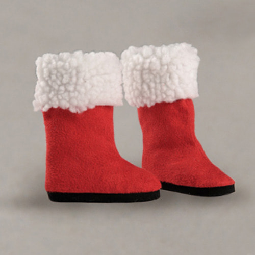 [67mm] MSD - Christmas St Boots (Red)[C1]
