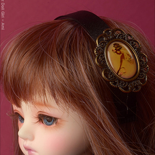 MSD & SD - Brown Lady Hairband (423)