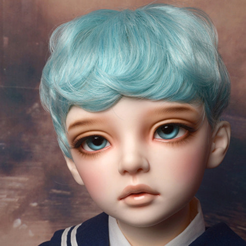 "[13-14""] Zeke Short Cut Wig (Blue)"