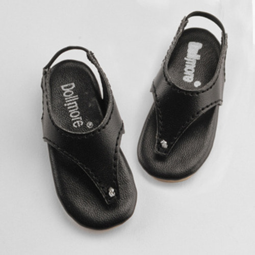 [60mm] MSD - KKM Flip Flop Shoes (Black)