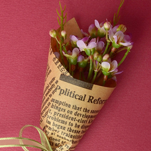 Middle Waxflower Bouquet (Violet)