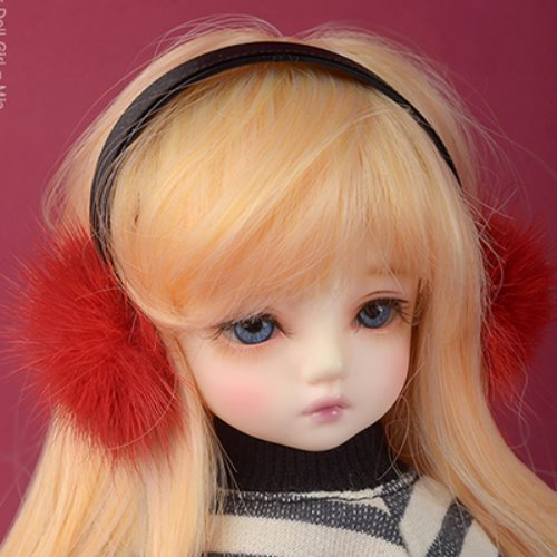MSD & SD - Mingky Earplug Hairband (Red-428)