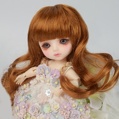 "[5""] Melrose Long Bang Wig (Carrot)"