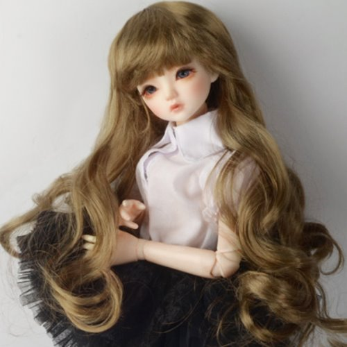 "[7-8""] Melrose Long Bang Wig (Brown)"