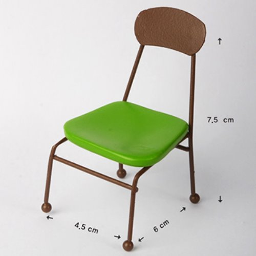 [포켓] Bebe Doll Size - Olga Chair (Green)