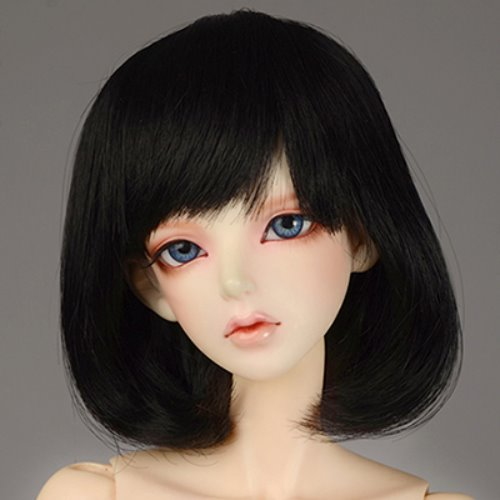 "[8-9""] SSC Short Wig (Black)"