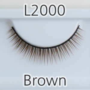 [속눈썹] L2000(8mm) - Brown