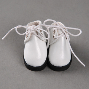[3.8cm] IDoll - Basic Boy Shoes (White)