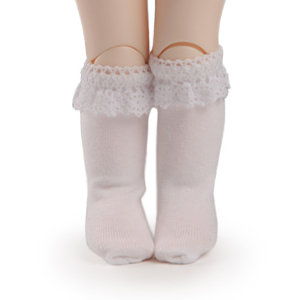 [USD] Ponyo Knee Socks (White)