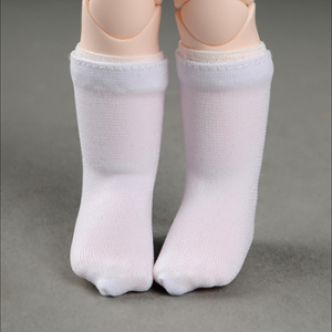 [USD] Smart Knee Socks (White)