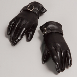 Unfoldable Leather Gloves (D.Brown)