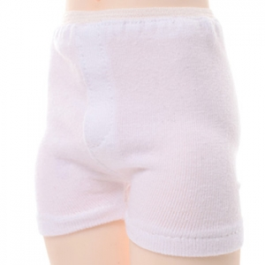 MSD - Boy trunk span panties (White)