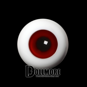 28mm Solid Glass Doll Eyes - PW16(B)