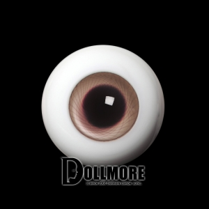 28mm Solid Glass Doll Eyes - PW14(B)
