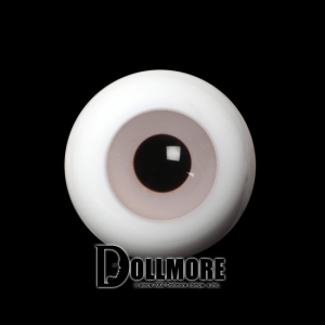 26mm Solid Glass Doll Eyes (12 Lavender)