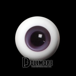 26mm Solid Glass Doll Eyes (13 Pale purple)