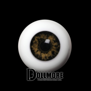 20mm Half-Round Acrylic Eyes (Hazel)