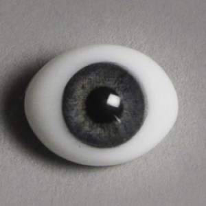 12mm Classic Flat Back Oval Glass Eyes (CC05)