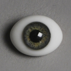 12mm Classic Flat Back Oval Glass Eyes (CC03)