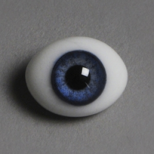 12mm Classic Flat Back Oval Glass Eyes (CC02)