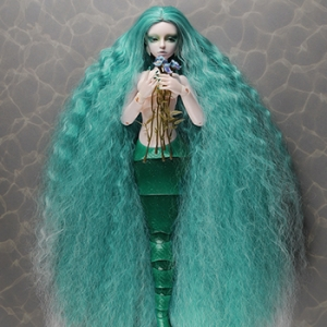 "[7-8""] Stardust Mermaid Wig (Blue)"
