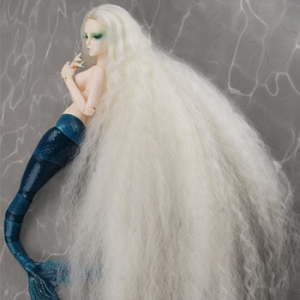 "[7-8""] Stardust Mermaid Wig (Ivory)"