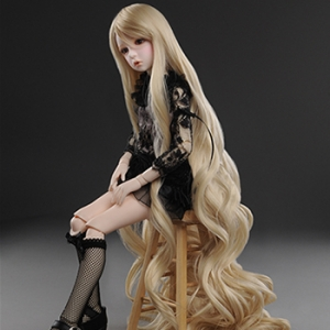 "[7-8""] Rapunzell Long Wig (Blonde)"