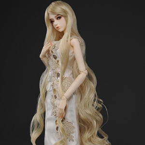 "[8-9""] Rapunzell Long Wig (Blonde)"