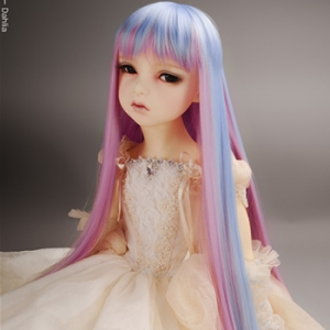 "[13-14""] Long Vora Straight Wig (FF Violet)"