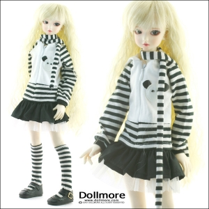 [MSD] Zebra Zipup Set (For Girl)[A1]