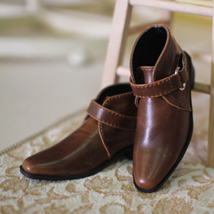 [SD boy] ankle boots-brown