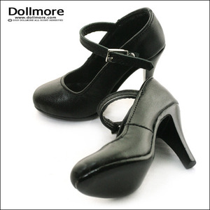 [90mm] Model Doll F(high heels's) Shoes - Basic Shoes (Black)