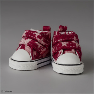 USD - Two strap ST Sneakers (Wine)